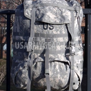 Made in USA US ARMY MOLLE II SDS ACU RUCKSACK digital BACK PACK MAIN BAG USGI