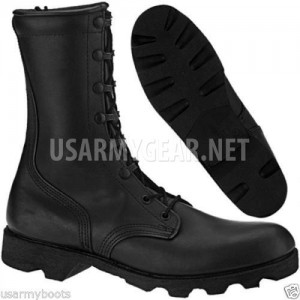New US Army Altama All Leather Vulcanized Waterproof Black Combat Military Boots