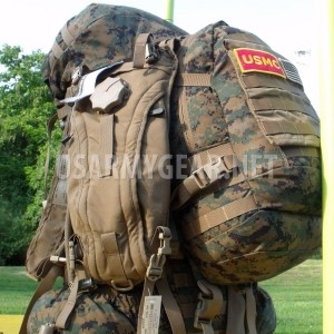 USMC GEN 2 Complete ILBE Back Pack Ruck Sack System Set + Assault Pack USGI