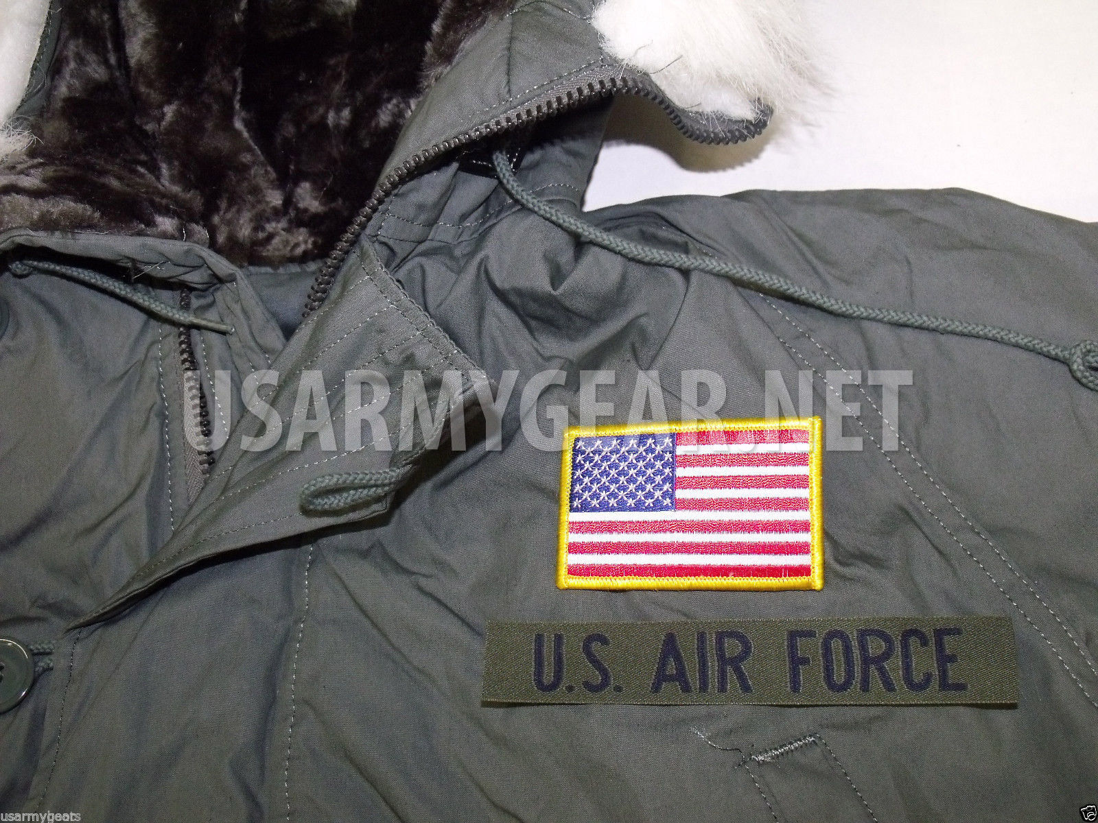6b97b7711 New Made in USA Military Extreme Cold Weather N-3B Snorkel Parka Army Jacket