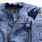 MADE in USA New MA-1 ALPHA INDUSTRIES PILOT FLIGHT JACKET,US AIR FORCE MILITARY