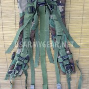 MOLLE II US Army SDS Woodland Back Pack Frame Shoulder Straps w Quick Release GI