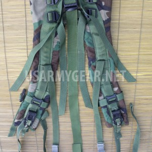MOLLE II US Army SDS Woodland Back Pack Frame Shoulder Straps w Quick Release GI