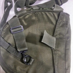 Made in USA USGI M40 GAS MASK BAG CARRIER with SHOULDER STRAP SURVIVAL BUG OUT