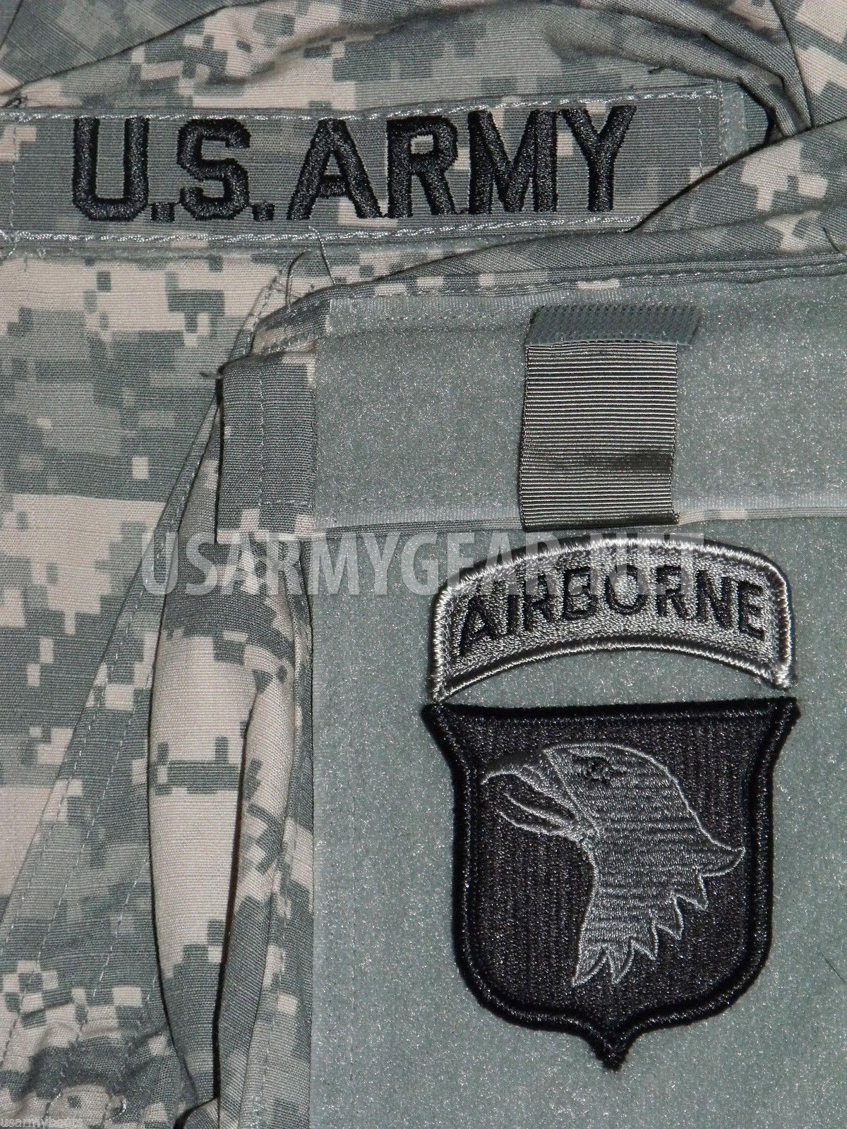 new 101st airborne division acu velcro patch set us army