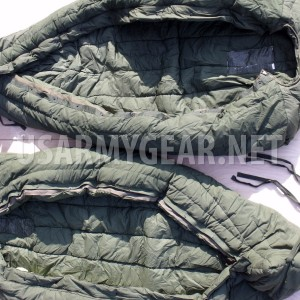 Made in USA USMC Army Intermediate Cold Weather ECW GI Sleeping Bag -10F