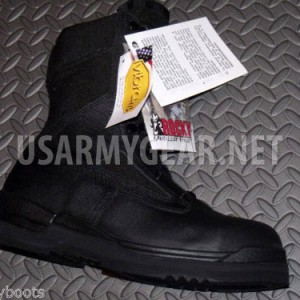 NEW ROCKY US NAVY SAFETY BOOTS-COMBAT,ARMY steel toe HW