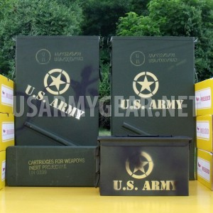1 New Ammo Can Mortar Truck Big Tool Carrier Large Military Metal Storage Box