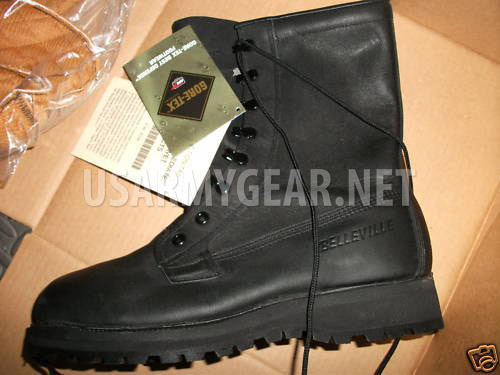Made in USA Black Bates or Belleville Cold Weather ICW Military ...