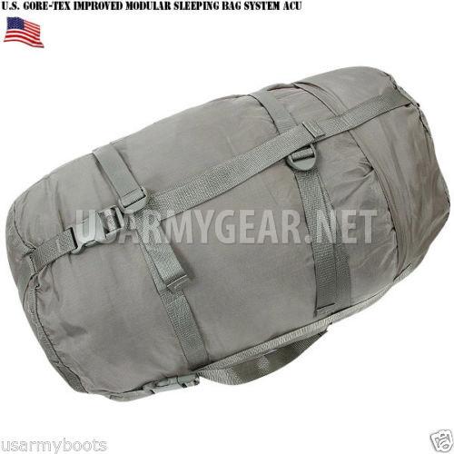made in usa army 5 pcs improved modular goretex acu sleep system imss bag usgi us army gear. Black Bedroom Furniture Sets. Home Design Ideas