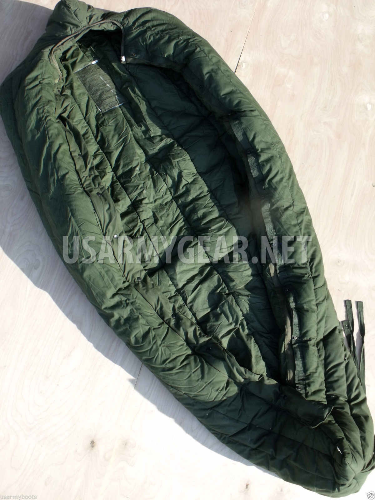 made in usa usmc army intermediate cold weather ecw gi sleeping bag