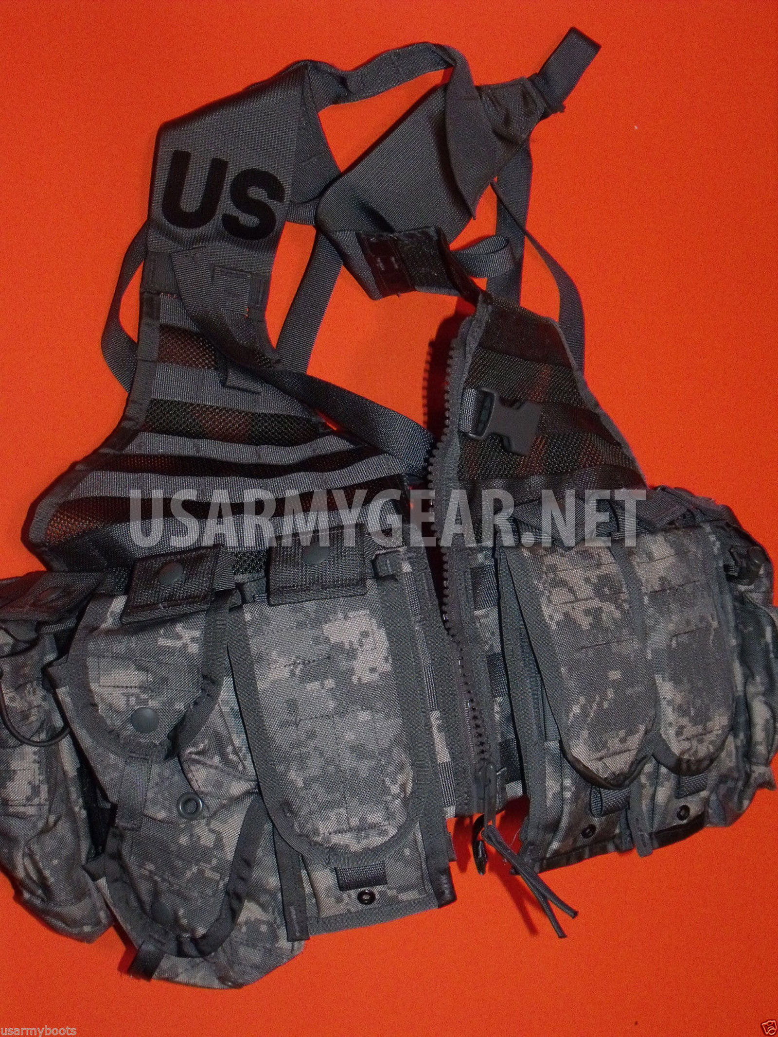 US Military MOLLE ACU Fighting Load Carrier FLC Tactical Vest New in Bag
