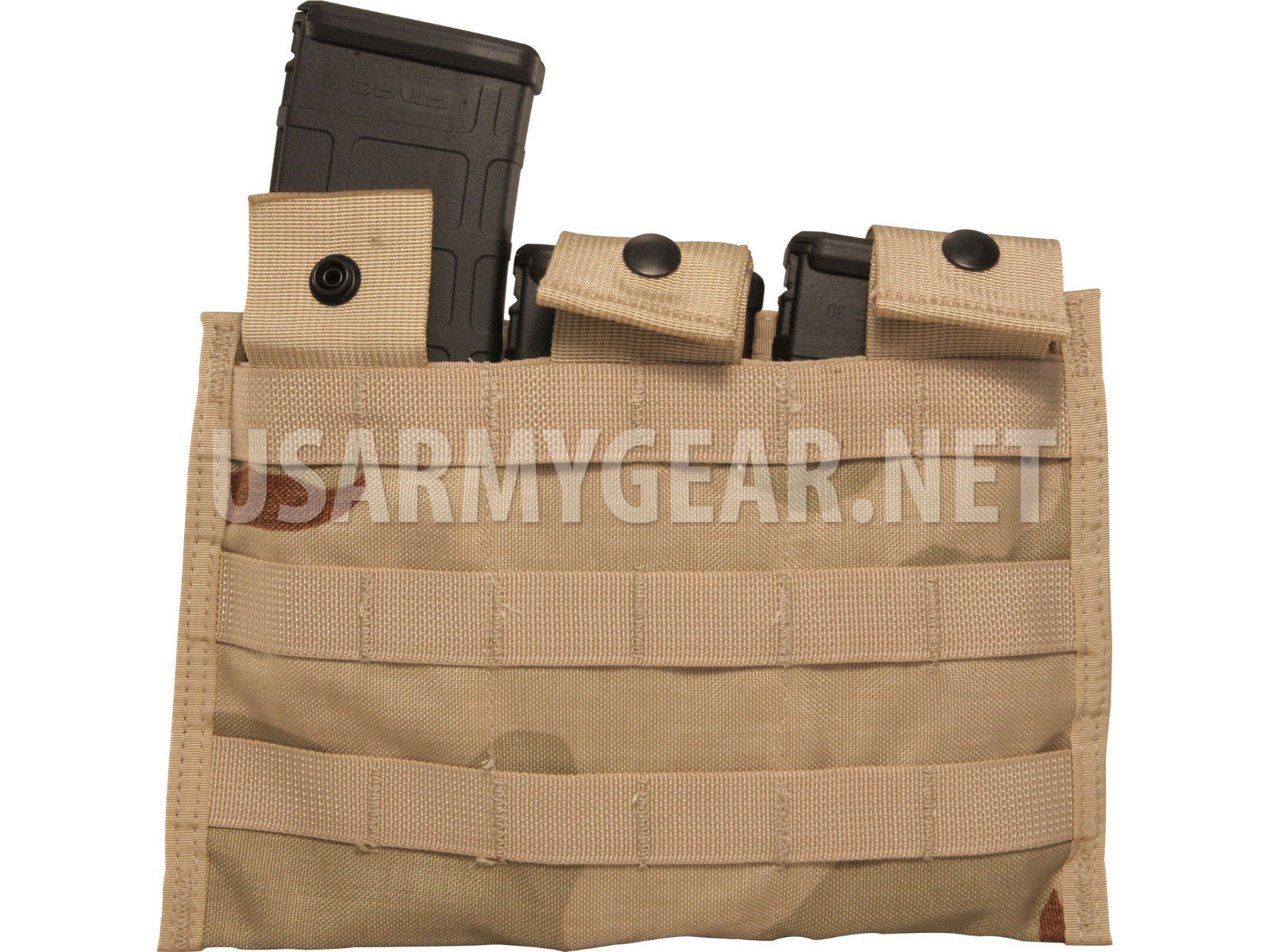 New Us Army Molle Camo Desert Side By X Side Triple M4