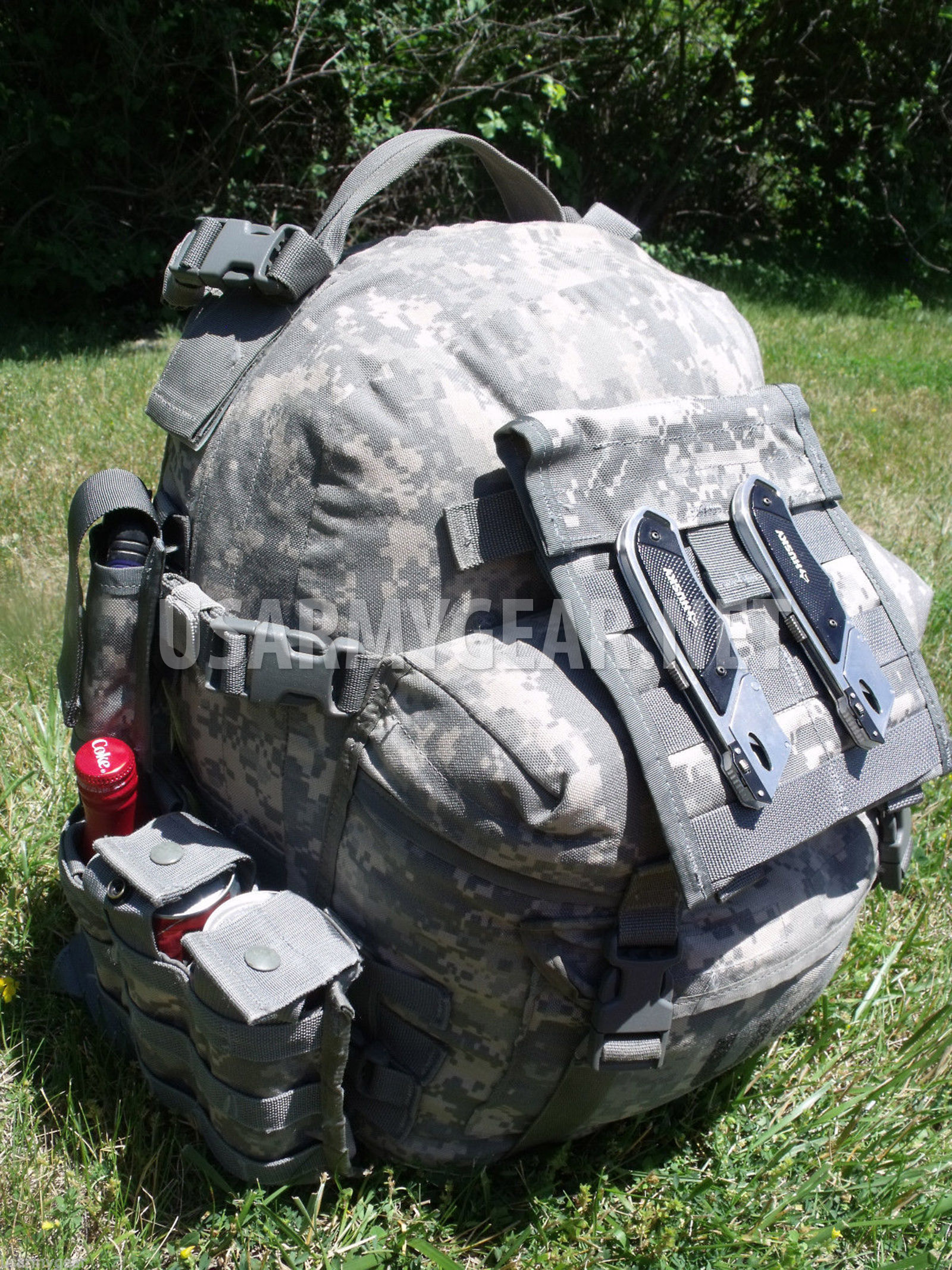FULLY LOADED US Army Military ACU 3 Days MOLLE ASSAULT BackPACK