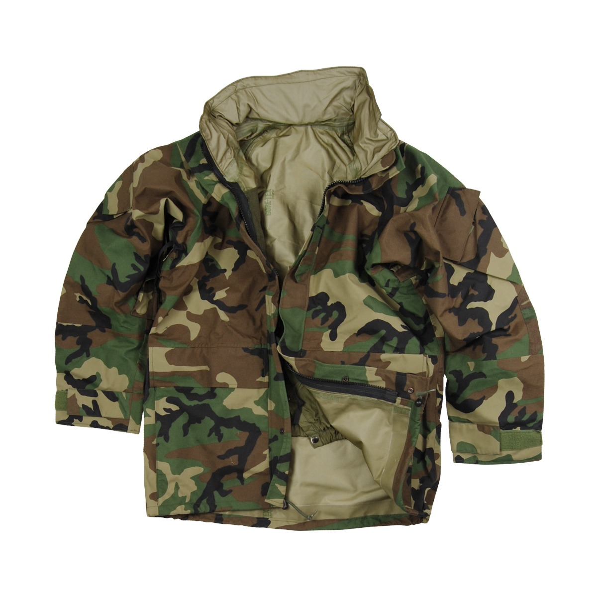 US Army Cold Wet Weather Gen 2 ECWCS Woodland Goretex Parka Jacket ...
