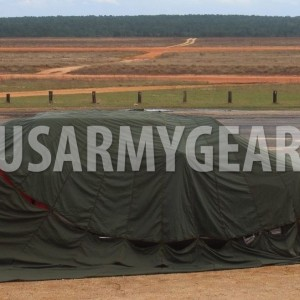 34' US Military G-14 Cargo Parachute, Camouflage Truck Car Cover Tent Military