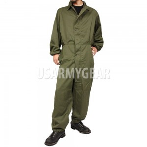 NEW US Army Military OD Green Mechanic Cold Weather Coverall USGI Medium M