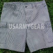 New Military Army US Made Atlanco Striped Navy Shorts Marine Combat Trousers XLR