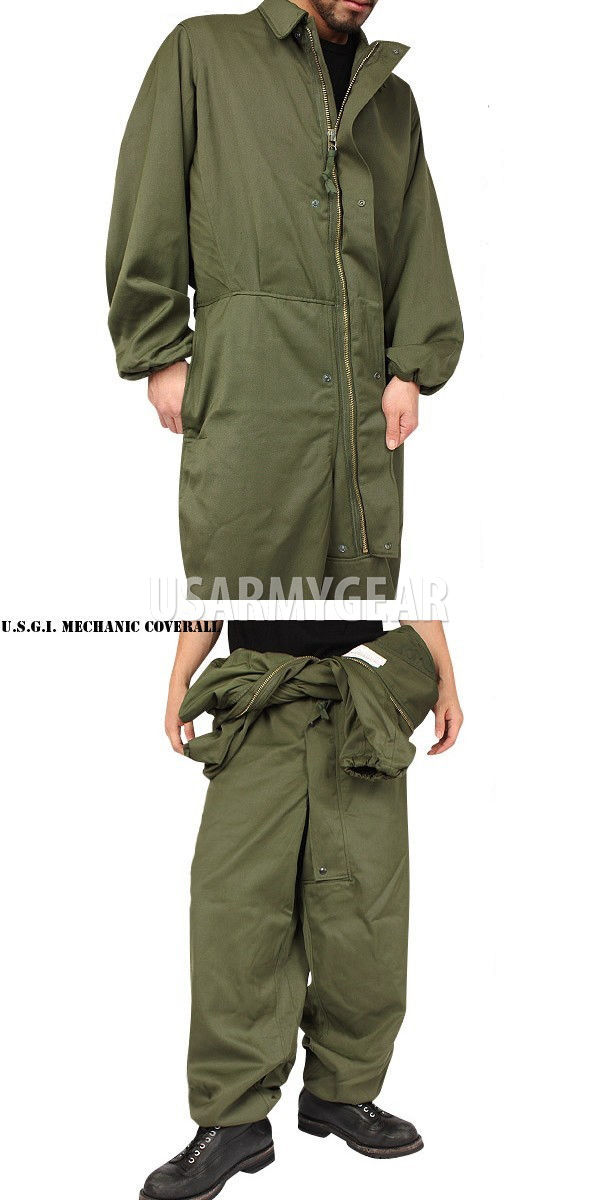 New Us Army Military Od Green Mechanic Cold Weather