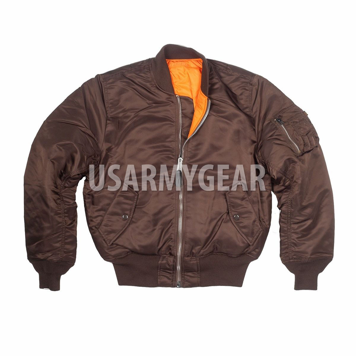 feaaf6efa82 Made in USA MA-1 Alpha Industries US Army Pilot Flight Military ...