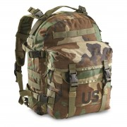 NEW US Military Army MOLLE II Woodland Camo 3 Day Assault Pack Backpack Bag USGI